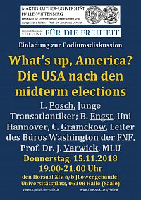 What's up, America? Die USA nach den midterm elections